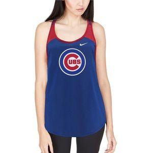 Chicago Cubs Nike Women's Wordmark Legend Tank Top